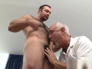 gay Big dick gay anal sex and cumshot dick