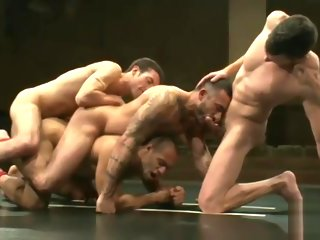 alessio Leo and Alessio vs Dj and Kyle (Tag Team) - Wrestle & Fuck leo