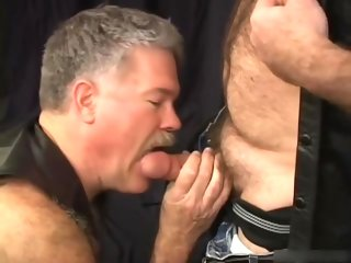 leather Anomalous Take cover Bear with an increment of Daddy Suck, Fuck, with an increment of With no holds barred kinky
